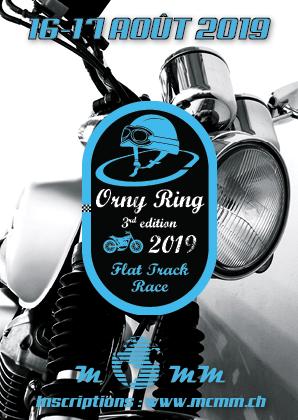 Orny Ring Flat Track